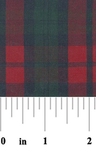 FF Plaid - Navy Red & Green
