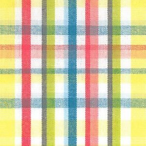 FF Plaid - Lime  and Yellow