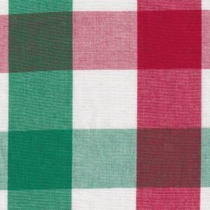 FF Plaid - Red White and Green (large) xx