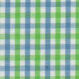 FF Plaid - Green and Blue