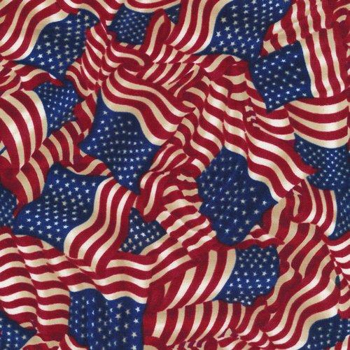 112 30572 American Pride Wavy Flag