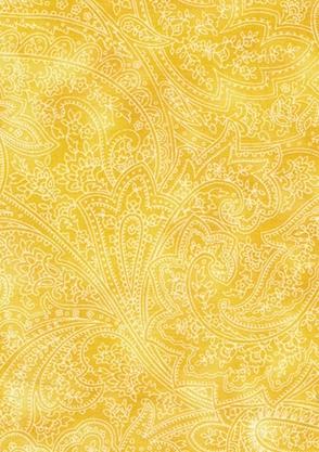120-11997 Montego Bay Ton Paisley Yellow