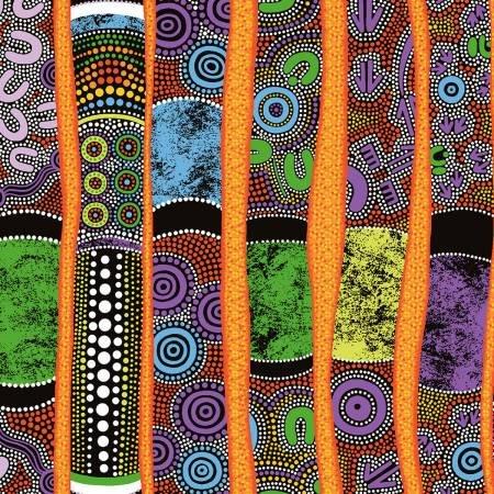 120 13502 Goanna Walkabout Didgeridoos Purple