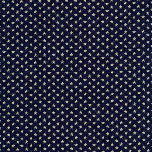 120 3076 Classique Stars Blue/Ecru