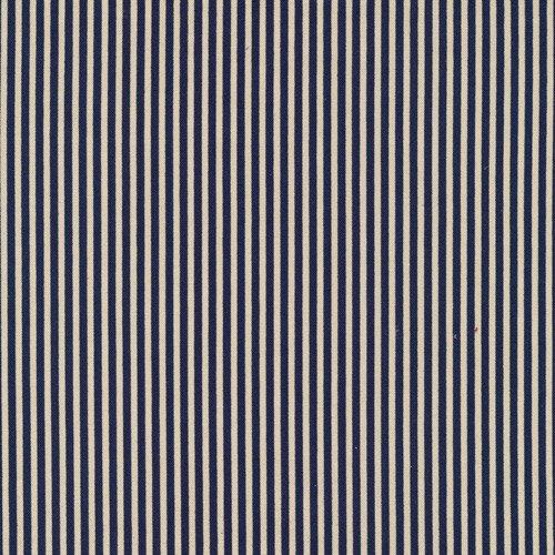120 3084 Classique Stripe Blue/Ecru