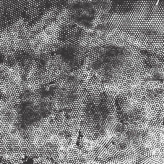 1867 K4 Dimples Black on White