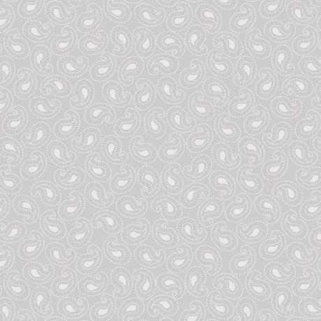 Quilting Illusions Paisley Gray  21519-K