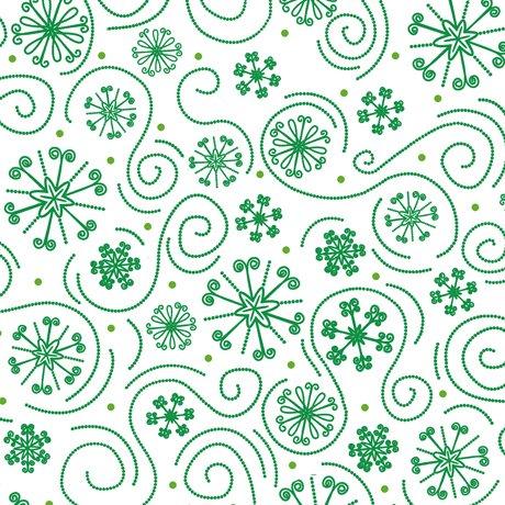 23816 G Holly Jollies Snowflake Swirl
