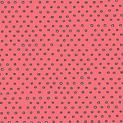 Pixie Square Dot Dark Salmon 24299-CP