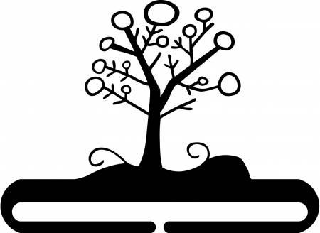 6 Winter Tree Split Bottom Hanger