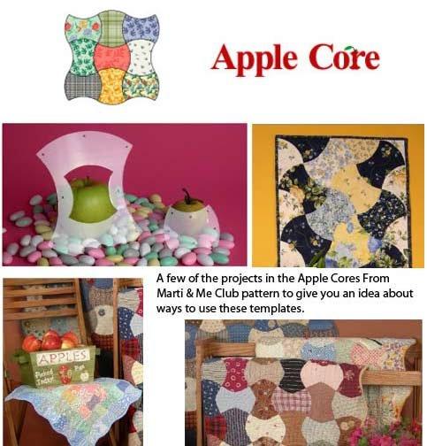 8103 Apple Cores 2 1/2 X 6