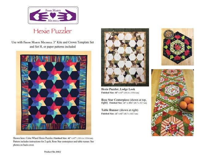 8402 Hexie Puzzler Pattern
