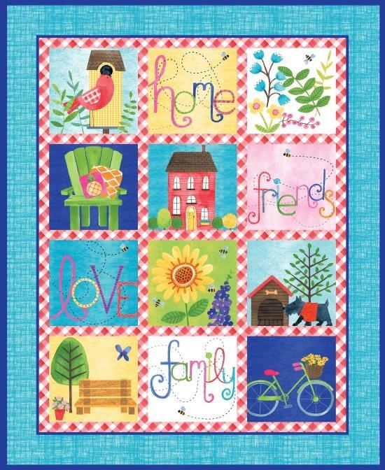 Home Sweet Home Panel 36 9240P-70