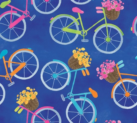 Bicycles Blue 9242-77