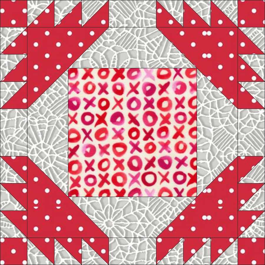 tHIS Love Quilt Along Block 5 Pattern
