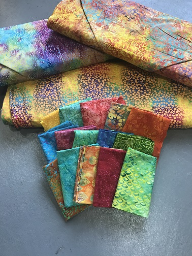 tHIS Love Fabric Bundle Batik