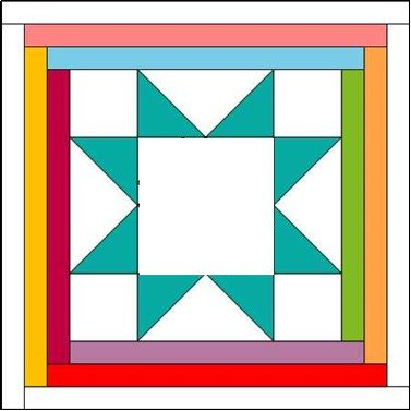 COVID Friends Block Set Self Isolation Electronic PDF Pattern Download