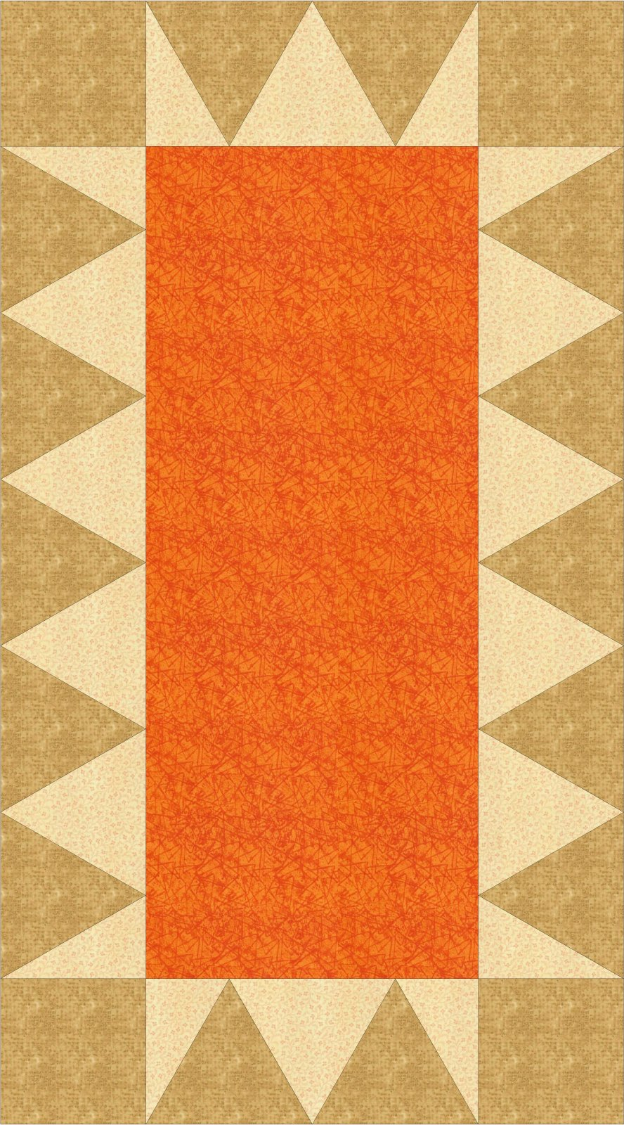 Chomp Chomp Table Runner Electronic Download Pattern 20x40