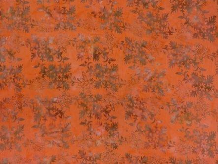 GA-13-115-ORANGE Rayon Batik Orange