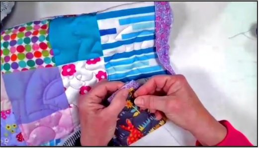 How To: Hand Stitch Binding Video