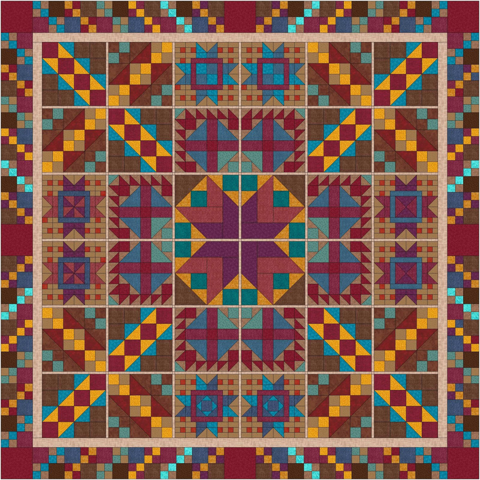 How the West Was Won (by a quilter) Pattern Series