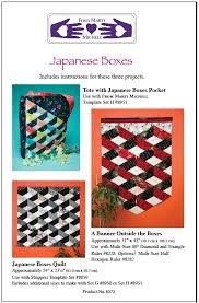 Japanese Boxes Pattern