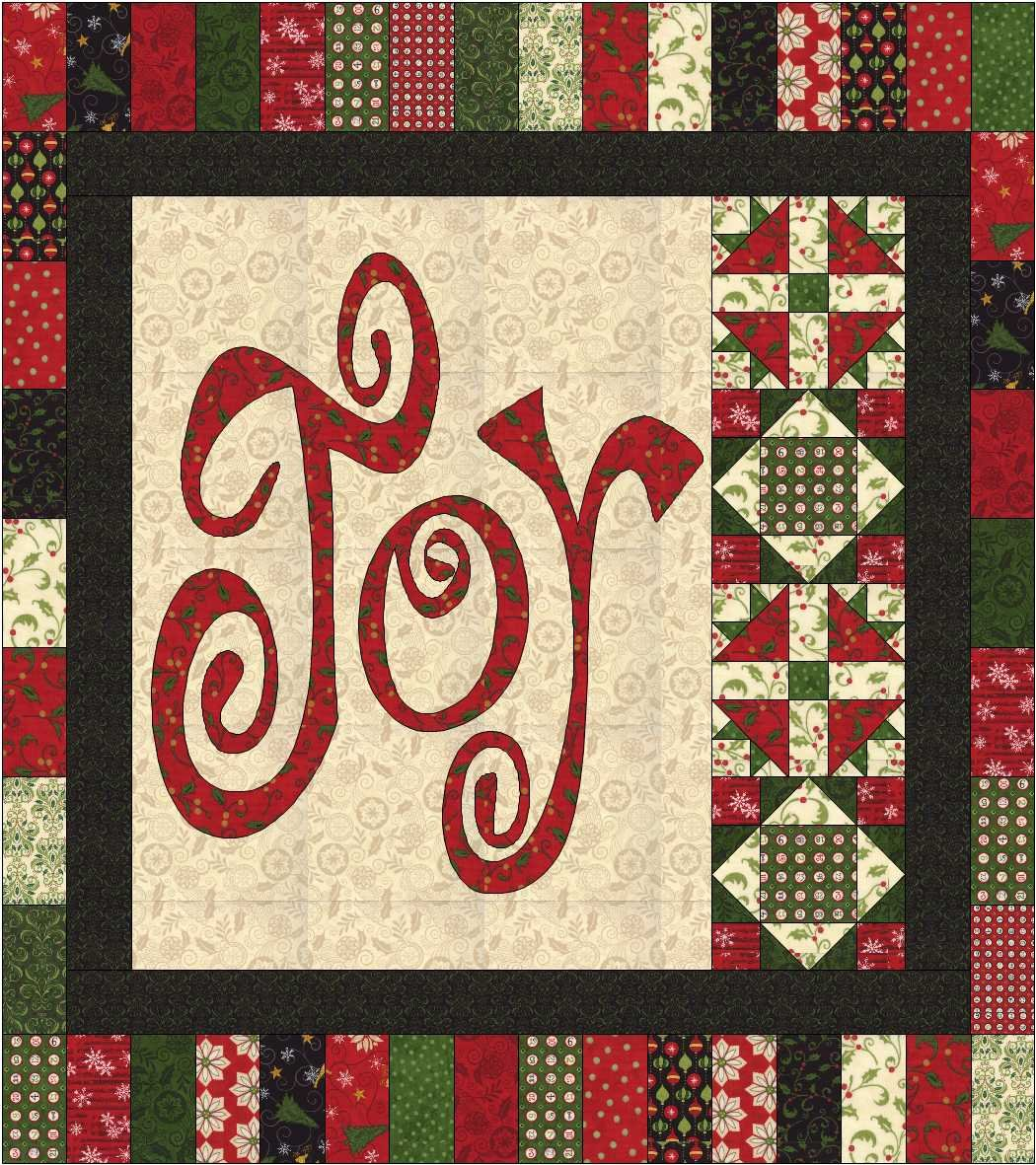 Joy to the World Electronic Hard Copy Pattern