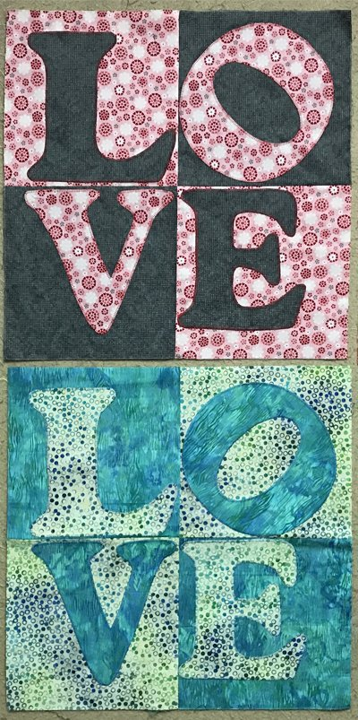 tHIS Love Quilt Along Block 3 Pattern