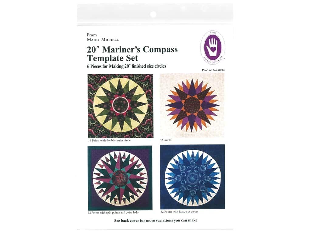 8704 20 Mariners Compass