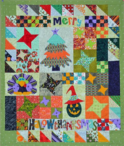 Merry Hallowthanksmas Electronic Download Pattern