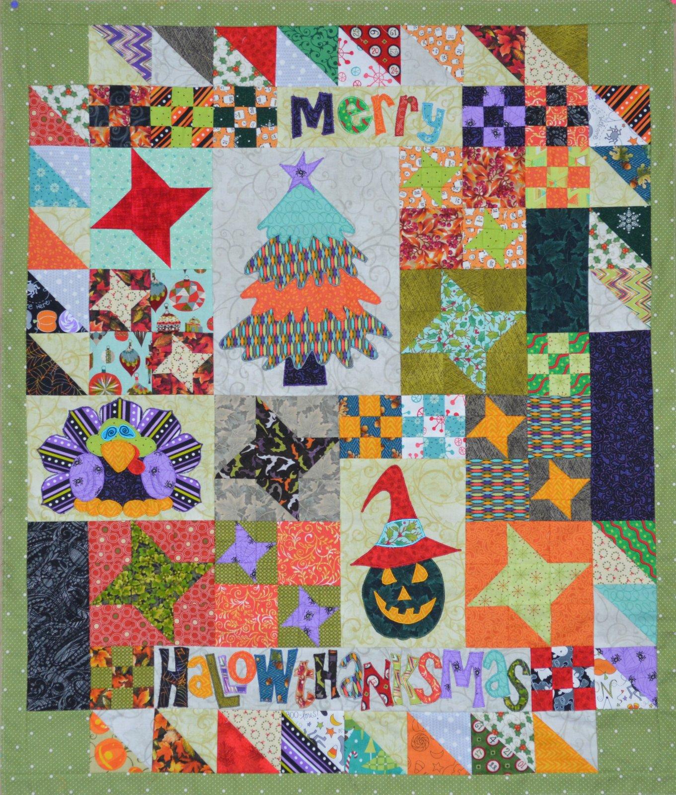 Merry Hallowthanksmas Pattern