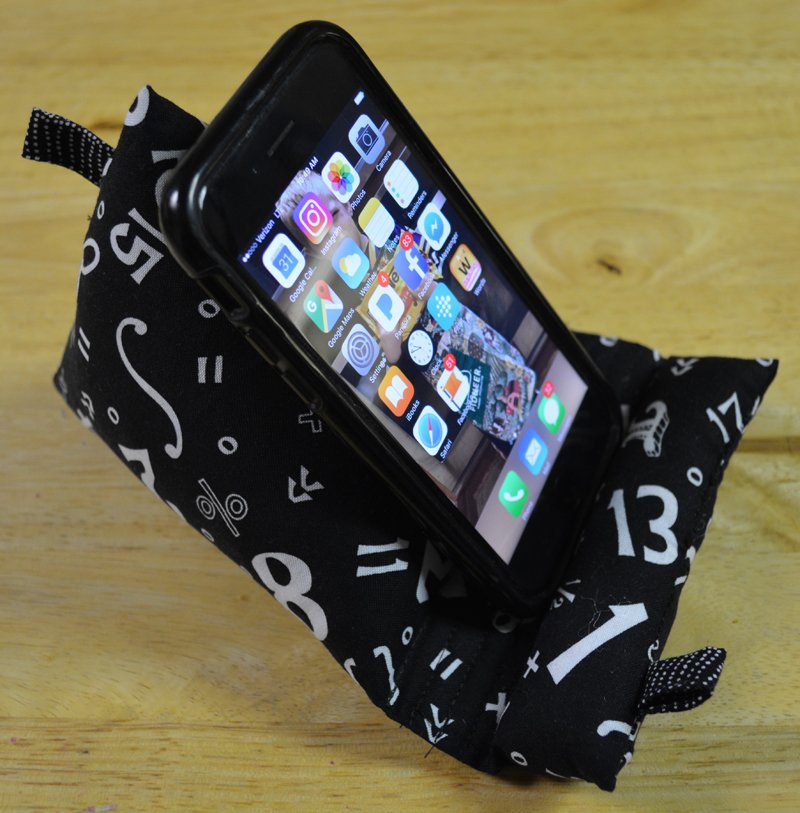 Phone-Tablet Bag Stand Electronic Download Pattern