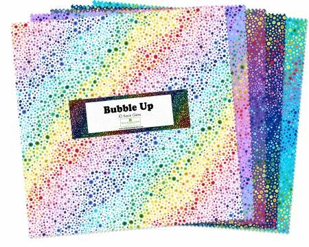 10in Squares Essentials Bubble Up