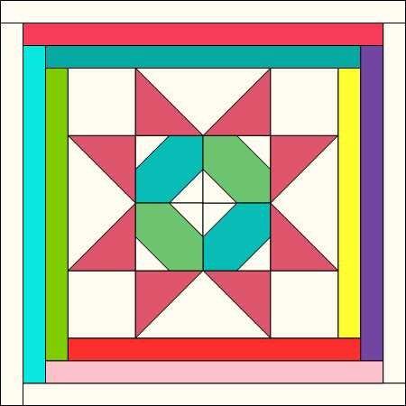 COVID Friends Block 13 Online Electronic PDF Pattern Download