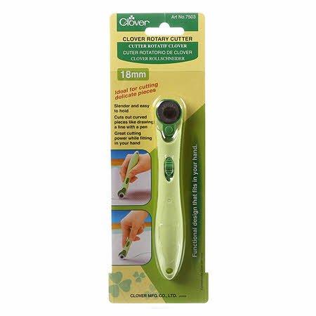 Clover 18MM Soft Grip Rotary Cutter 7503CV