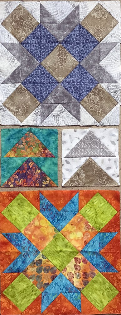 Songs of Faith Quilt Along Blocks 5-6 Pattern