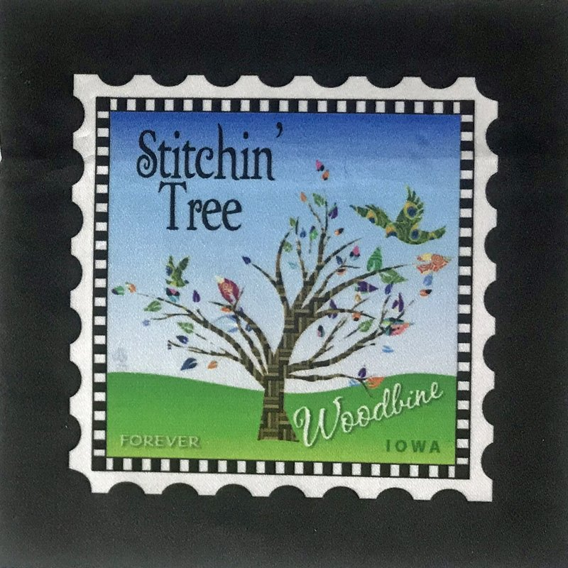 Stitchin' Tree Logo Block