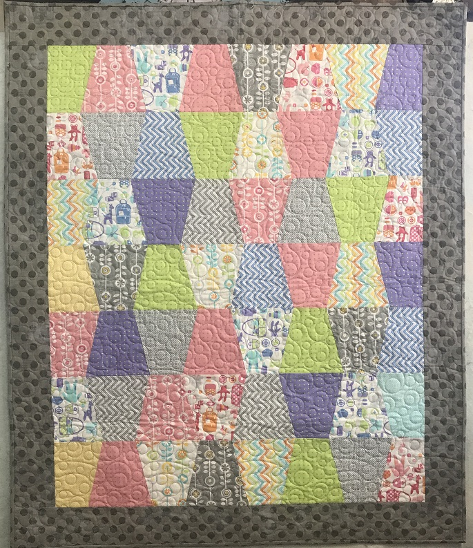 Tumbler Baby Quilt pre cut kit - Bump to Baby
