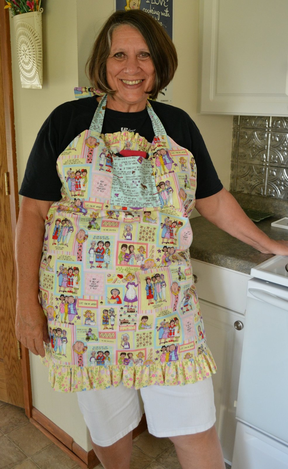Twice Baked Apron Electronic Download Pattern
