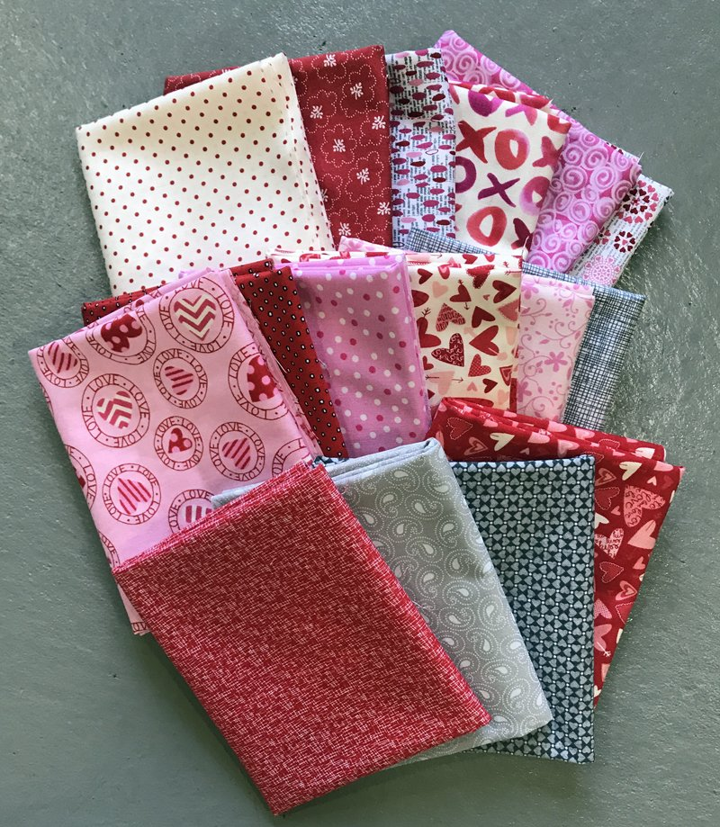 tHIS Love Fabric Bundle Valentine