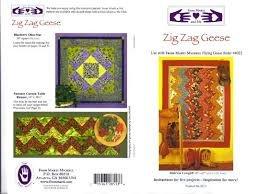 8513 Zig Zag Geese Pattern