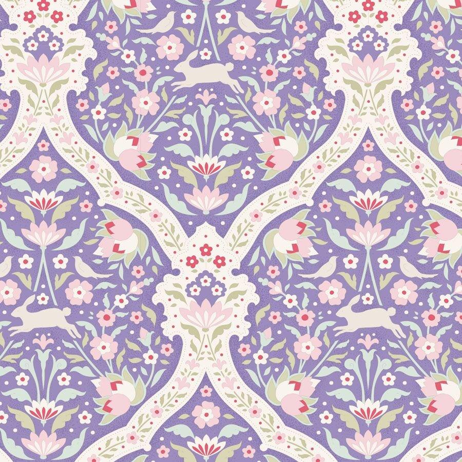 100241 Hare Tile Blue