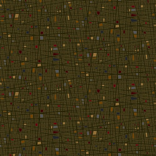 2313-66 Green Square Texture