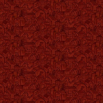 2316-88 Red Tonal Houses