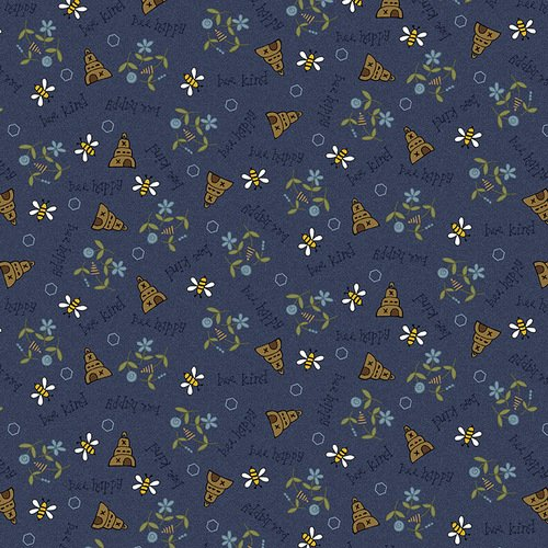2422-77 Blue Bee Scatter