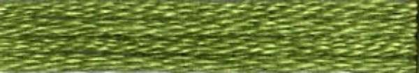 #118 Cosmo Cotton Embroidery Floss 8m Skein Green Family