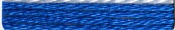 #415 Cosmo Cotton Embroidery Floss 8m Skein Blue Family