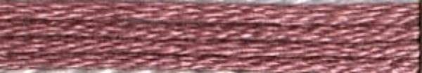 #433 Cosmo Cotton Embroidery Floss 8m Skein Mauve Family