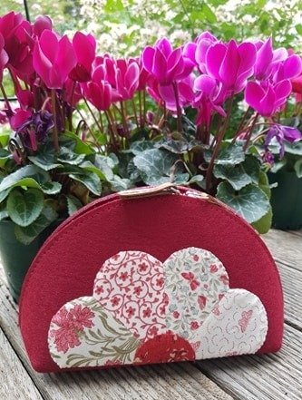 Dresden Felted Pouch kit