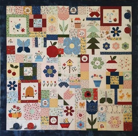 Backyard Bliss Block of the Month